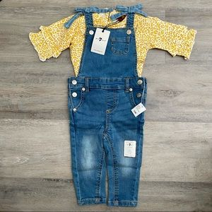 7 for All Mankind   2 Piece Overalls Outfit
